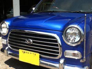 大変綺麗なジーノの中古車販売。車検付 新古車並 ダイハツ UA-L700S マジョリカブルーマイカメタリック