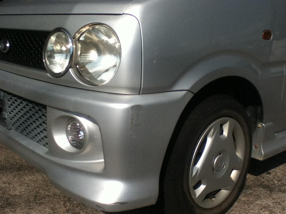 ダイハツ 2代目ムーヴ TA-L910S カスタムL M4 【4WD】【MT車】 H13