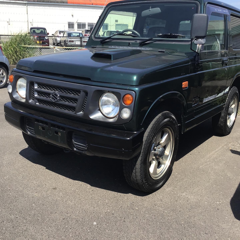 ジムニーJA22を取り寄せました。程度の良いJA22wを探すのは大変ですね。しかし、名車です。かっこいい!#じむにー#じむにー男子 #じむにー女子 #じむにーのある暮らし#中古車